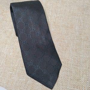 Gucci GG Monogram Silk Tie